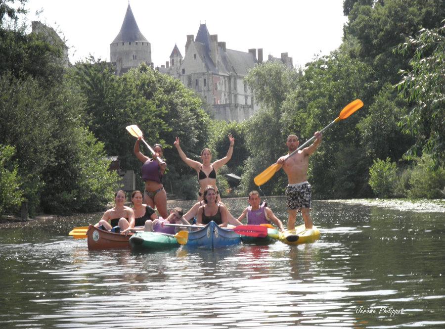 Canoé entre Chartres et Orléans en Vallée du Loir