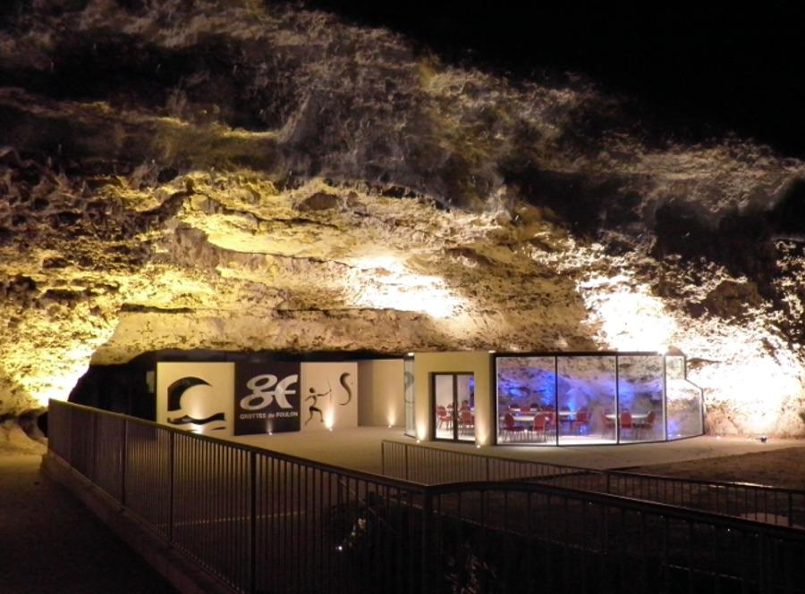 Grottes du foulon Châteaudun hôtel 3*