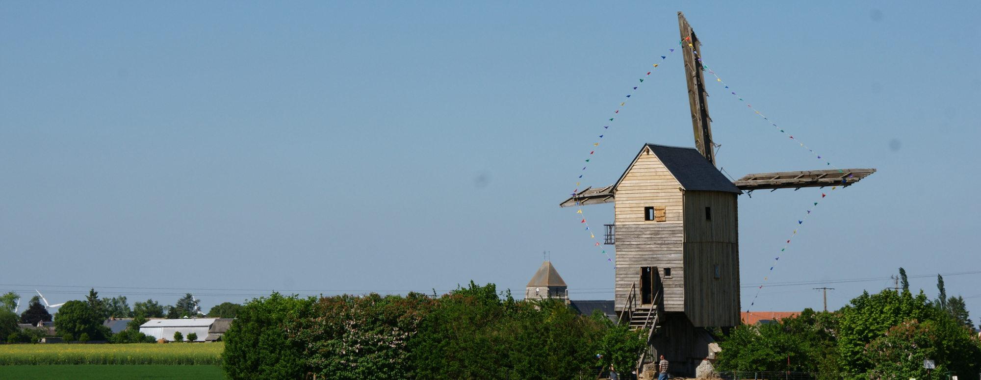 Moulin Eure et Loir hôtel 3 * logis Entre Beauce et Perche près Chartres