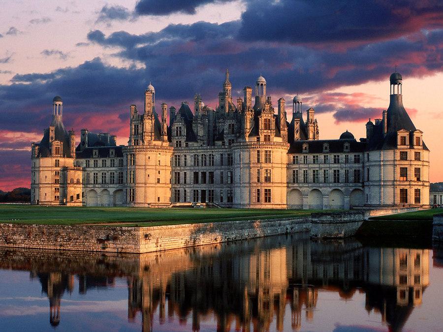 Château de chambord chateaux de la loire