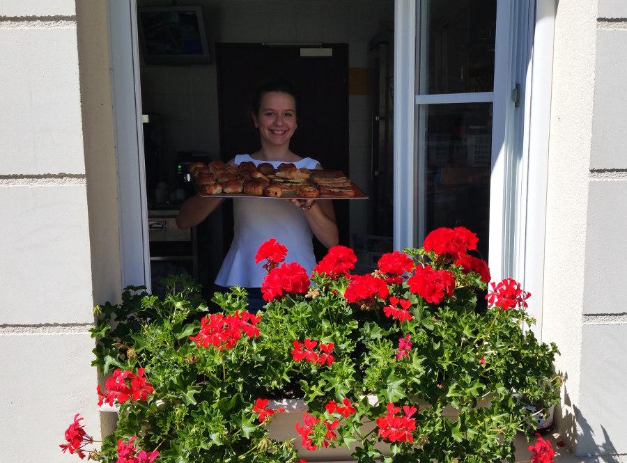 Petit déjeuner hôtel logis près de Chartres