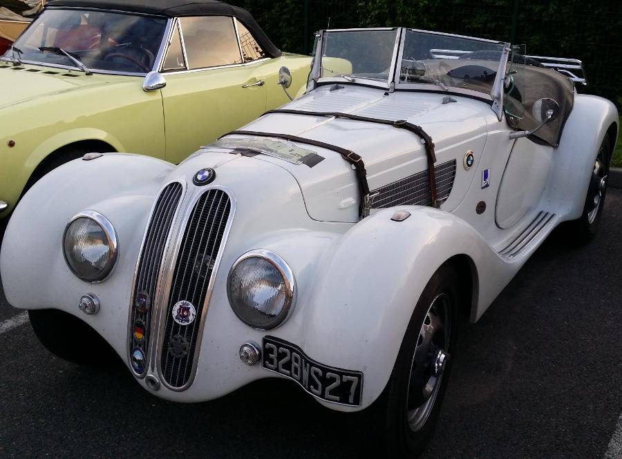 Rallye voitures anciennes région Centre